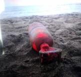 Karasu Plajında Bulunan Denizaltı'na Ait Bomba Paniğe Neden Oldu