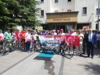 Nevşehir'de Pedallar 15 Temmuz Şehitler İçin Döndü