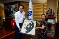 Özel Öğrenci 4500 Çakıl Taşıyla Atatürk Portresi Yaptı