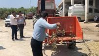 Samandağ'da Budanmış Ağaç Dalları Sorun Olmaktan Çıkacak