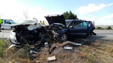 Tekirdağ'da Zincirleme Kaza Açıklaması 4 Yaralı