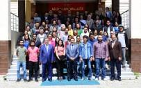 MUSTAFA MASATLı - Vali Mustafa Masatlı, İŞKUR'un Üniversite Öğrencilerine Yönelik Sosyal Destek Programının Tanıtım Toplantısına Katıldı