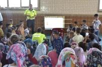 HICRET - Yaz Kur'an Kurslarında Çocuklara Trafik Eğitimi
