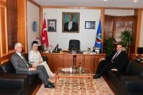 ŞEHİT ANNESİ - 15 Temmuz Şehidinin Ailesinden Rektör Prof. Dr. Şafak Ertan Çomaklı'ya Ziyaret