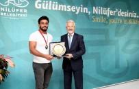 GÜREŞ - Bursa'nın Gururuna Erdem'den Ödül