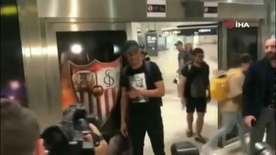 Fernando imzayı atmak için Sevilla'da