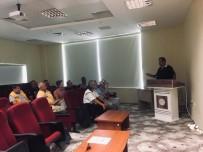 TRAFİK POLİSİ - Hastane Şoförlerine Trafik Kuralları Eğitimi Verildi
