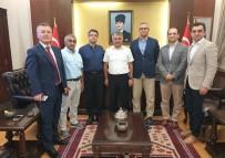 Vali Yazıcı, İstanbul Siyasalda Okuyan Arkadaşlarıyla Buluştu