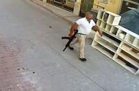 İNSUYU - Elinde tüfek, belinde tabanca ile gitmiş