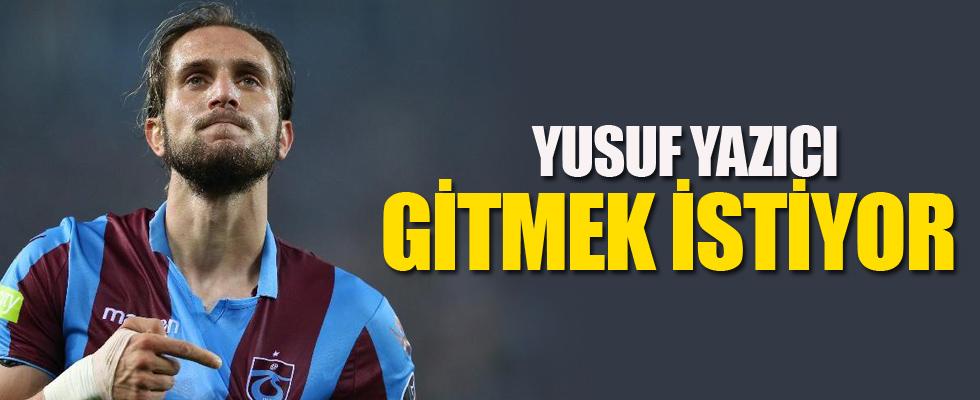 Yusuf Yazıcı, ayrılmak istediğini Trabzonspor'a bildirdi