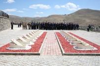 15 Temmuz Demokrasi Ve Milli Birlik Günü Dolayısıyla Bayburt Şehitliğinde Tören Düzenlendi
