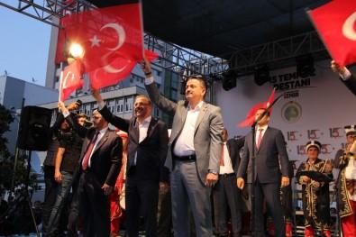 İzmir'de '15 Temmuz Demokrasi Ve Milli Birlik Günü' Etkinliği