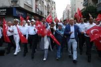 KURAN-ı KERIM - Mersin'de 15 Temmuz Yürüyüşü