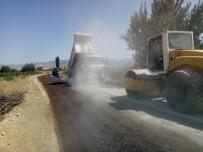 Alaşehir'de Asfalt Çalışmaları Başladı