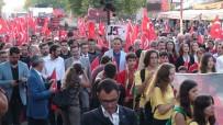 CUMHURBAŞKANı - Çanakkale'de '15 Temmuz Demokrasi Ve Milli Birlik Yürüyüşü'