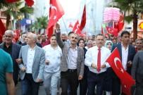 Çayırova'da 15 Temmuz'un Yıldönümü Binler Birlik Oldu
