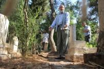 Hırsızlar Bu Kez Mezarlığa Dadandı