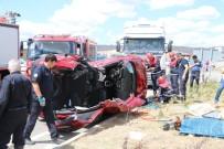 İki Gün Arayla Aynı Kavşakta İkinci Kaza Açıklaması 4 Yaralı