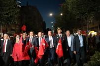 ASKERLİK ŞUBESİ - Kırşehir'de Halk Cacabey Meydanı'nda Darbecilere Karşı Yürüdü
