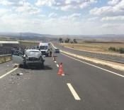 Kırşehir'de Trafik Azası Açıklaması 1 Ölü, 3 Yaralı