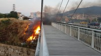 Köprü Alev Alev Yandı