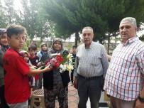 ŞEHİT ANNESİ - Kur'an Kursu Öğrencilerinden Şehit Mezarına Ziyaret