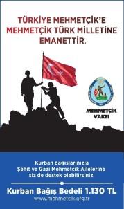 Mehmetçik Vakfından Kurban Bağışı Duyurusu