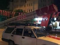 S 400 Füzesine Benzettiği Maketi Aracına Bağlayıp 15 Temmuz Zaferini Kutladı