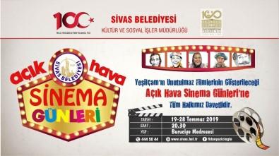 Sivas'ta ' Açık Hava Sinema Günleri'  Başlıyor