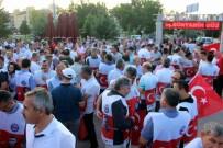 HAK İŞ - Sivil Toplum Kuruluşları 15 Temmuz'un 3. Yıl Dönümünde Yürüdü