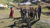 Yayladaki Çocuklar İçin 3 Bin Rakımda Pedal Çevirdiler