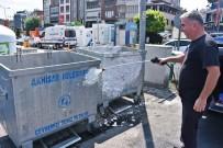 Daha Temiz Bir Akhisar İçin Çöp Konteynerleri Temizleniyor