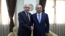 Dışişleri Bakanı Çavuşoğlu, Filistinli Mevkidaşı Maliki İle Bir Araya Geldi