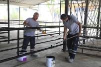 Efeler Belediyesi Hayvan Pazarı'nda Bakım Ve Onarım Çalışması Başlattı