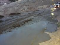 Gümüşhane'de Maden İşletmesinin Atık Borusu Patladı