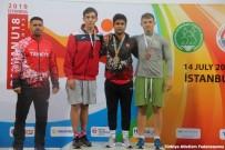 Osmaniyeli Ciritçi Balkan Şampiyonu