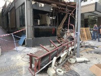 ŞİŞLİ BELEDİYESİ - (Özel) Nişantaşı'nda 23 Yıldır Faaliyet Gösteren Kafeterya Belediye Ekipleri Tarafından Yıkıldı