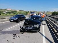 Samsun'da Otomobiller Çarpıştı Açıklaması 4 Yaralı