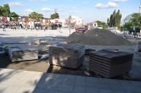 Tekirdağ Büyükşehir Belediyesi Yapımı Tamamlanmayan Meydanın Açılışını Yaptı
