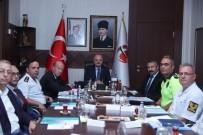 BEKİR ŞAHİN TÜTÜNCÜ - Trafik Değerlendirme Toplantısı Vali Çakacak'ın Başbakanlığında Yapıldı