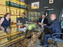 Vali Yazıcı Zeytinyağı Fabrikasında İncelemelerde Bulundu