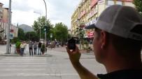 Yayalar İçin 'Kırmızı' Alarm, Kamerayla Kayıt Altına Alarak Tek Tek Ceza Yazdılar
