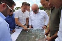 Başkan Bıyık'tan Yeni Mezarlık Hizmet Binasında İnceleme