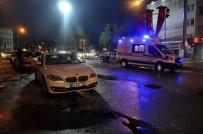Başkent'te Aday Sürücü Yayaya Çarptı