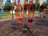 Büyükşehir Belediyesi, Parklardaki Oyun Gruplarını Yeniliyor