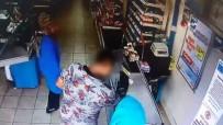 Hırsızlığı Market Çalışanının Dikkati Önledi