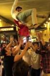 (Özel) İstanbul'da Asker Uğurlayan Magandalar Tünel Kapatıp Havaya Ateş Açtı