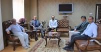 BİNALİ YILDIRIM - Prof. Dr. Muammer Yaylalı'dan Rektör Levent'e Ziyaret