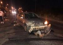 Tekirdağ'da Otomobil Koyun Sürüsüne Daldı