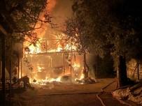 Yangında Can Pazarı...Bursa'da Can Kurtarmak İçin Zamanla Yarış